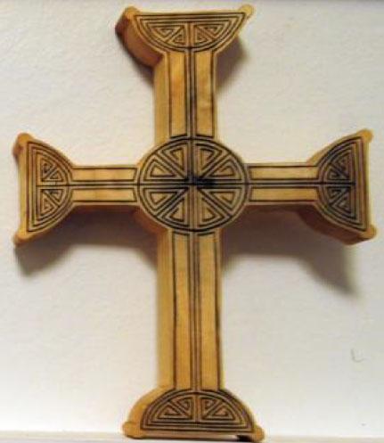 Cruci de lemn CELTICE