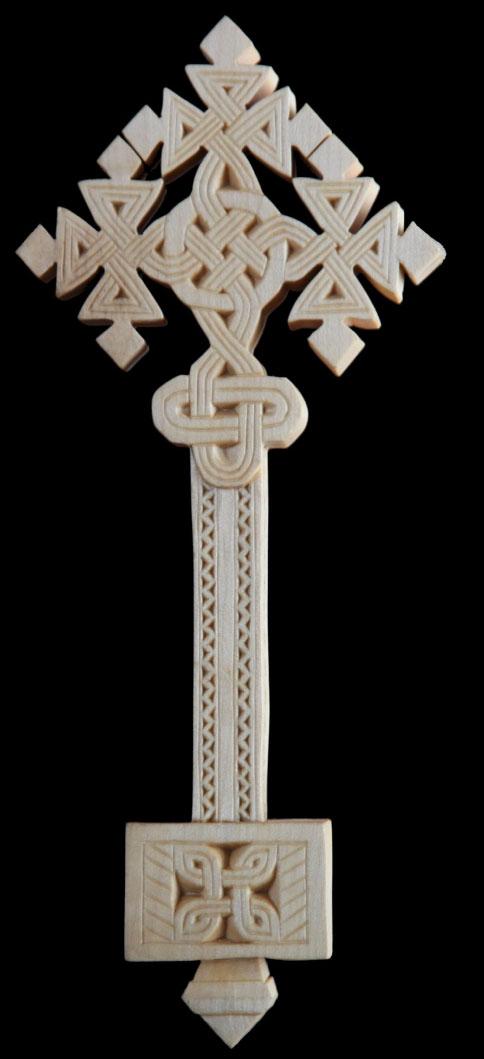 Cruci de lemn etiopiene