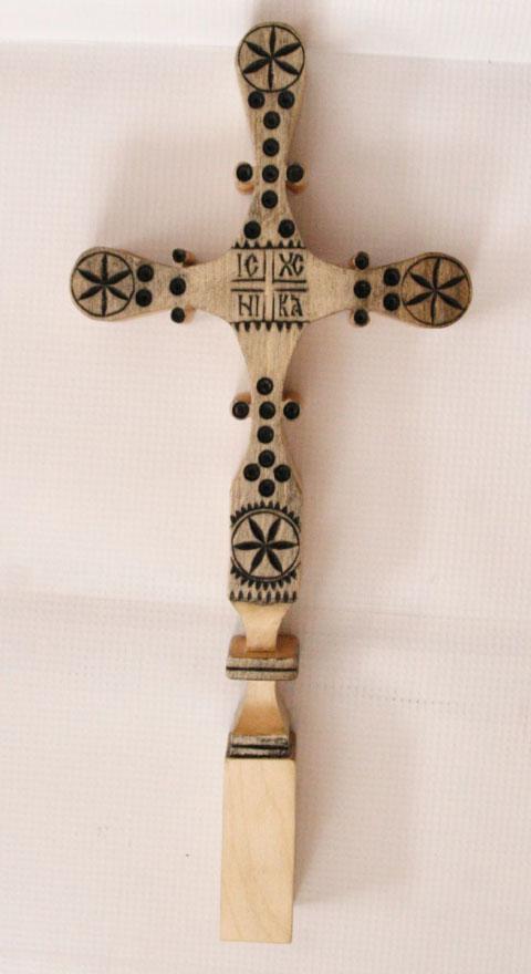 Cruci de lemn romanesti